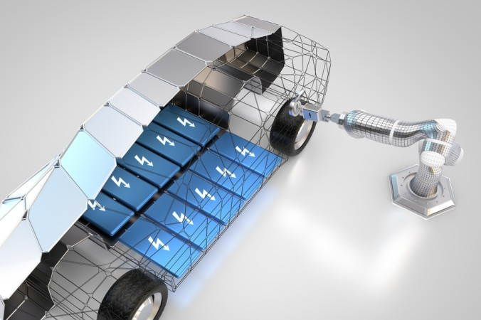 """Ein weiterer Trend in der Automobilindustrie ist die """"E-Mobilität"""" und auch hier kann Viscom mit seinem Angebot punkten. (#4)"""