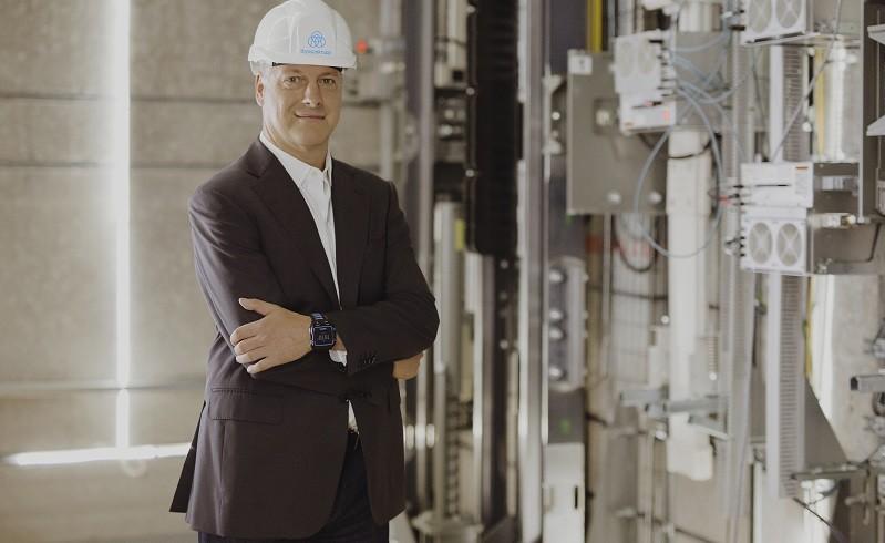 Andreas Schierenbeck, Vorstandsvorsitzender von thyssenkrupp Elevator (#03)