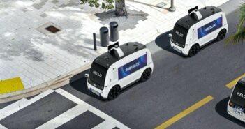 Neolix: Innenstädte sicherer und leichter befahrbar mit autonomen Fahrzeugen ( Bildnachweis: Neolix)